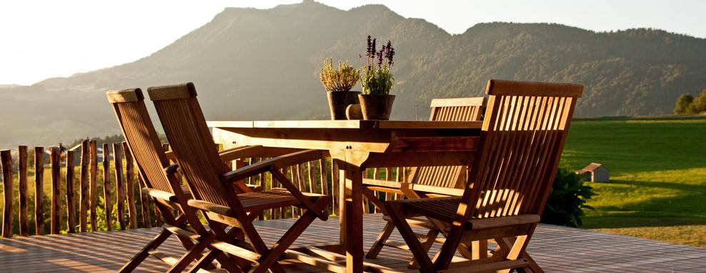 Terrazas y mobiliario de jardín